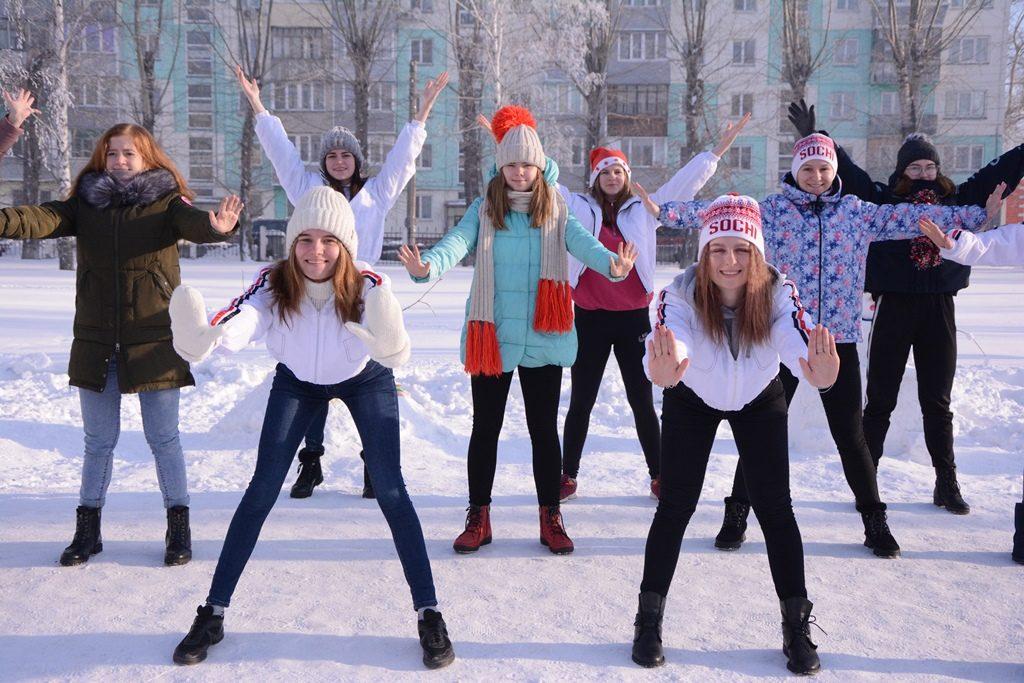 Танцевальный флэшмоб#Новый год у ворот# Алтайская зимовка