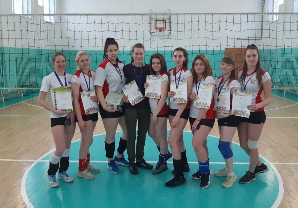 Победители первенства города по волейболу