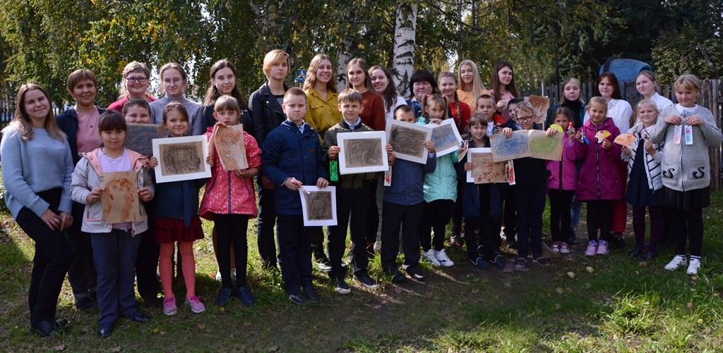 Творческая  встреча в селе Красногорское