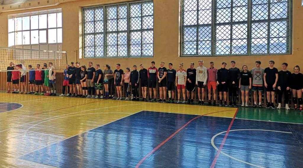 Спортивные  соревнования по волейболу