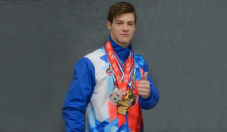 Абсолютный чемпион Алтайского края по спортивной гимнастике